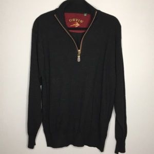 Orvis Quarter Zip Pullover